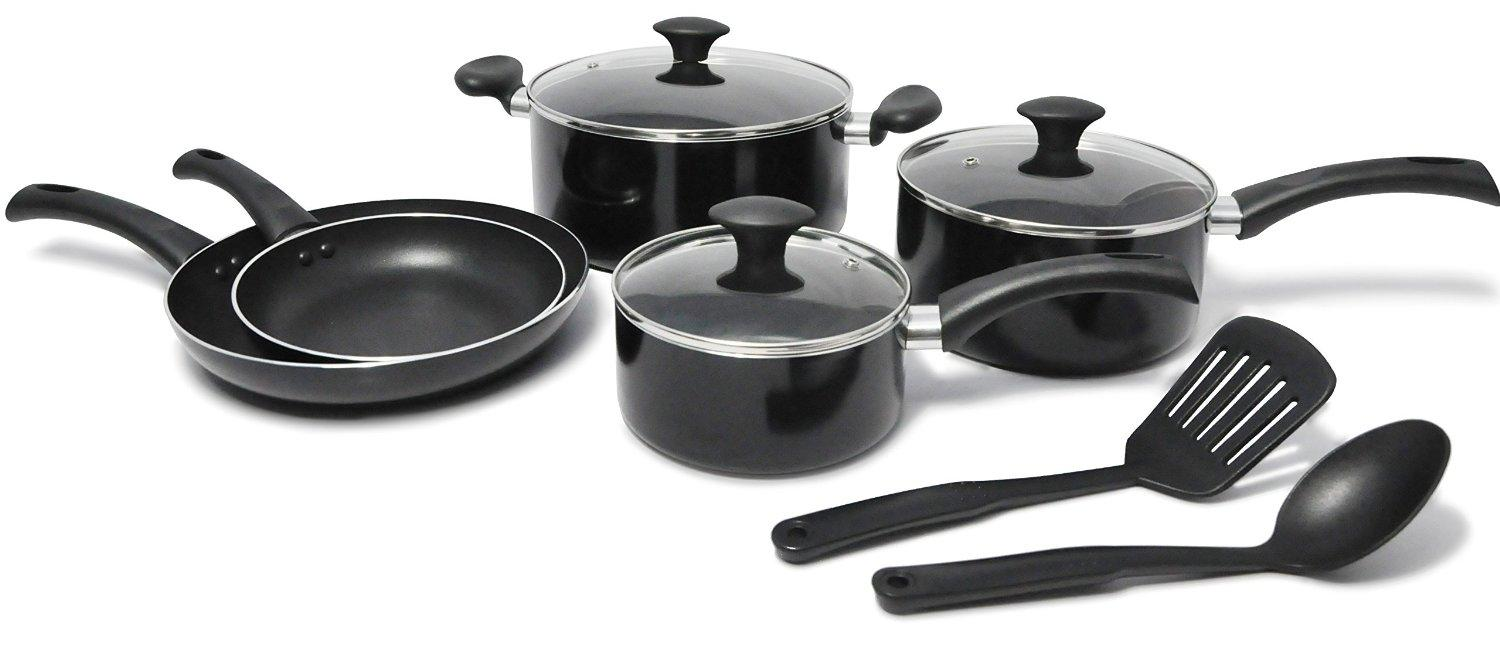 Kitchen Pro by WearEver Nonstick Cookware Set, 10-Piece