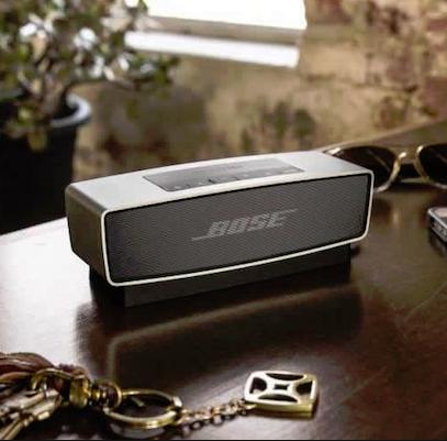 $143.96 Bose SoundLink Mini Bluetooth Speaker (Silver)