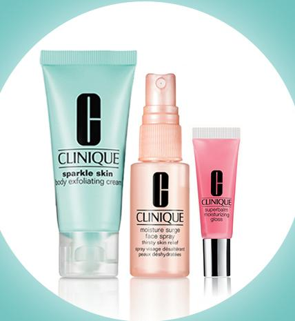 Free 3 Minis with Any $35 Purchase @ Clinique