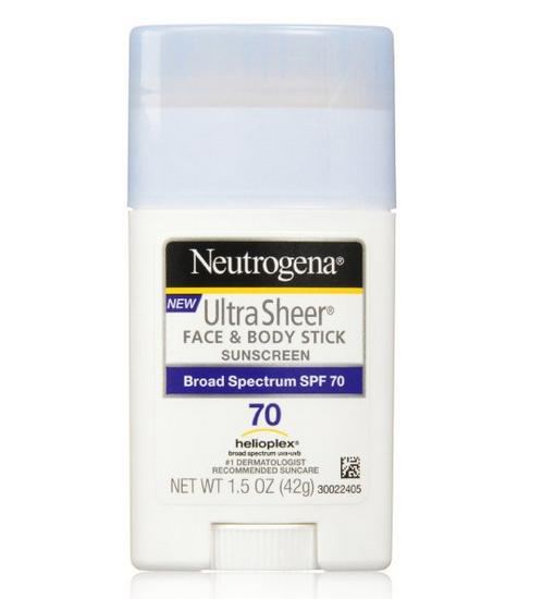 $7.39 + Free Shipping Neutrogena Sunscreen Ultra Sheer Stick SPF 70