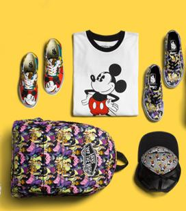 New Disney VansShoes and Accessories @ Journeys