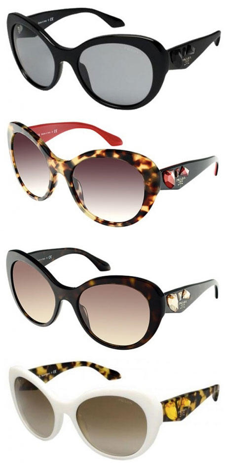 Prada PR 26QS Sunglasses, 4 Options