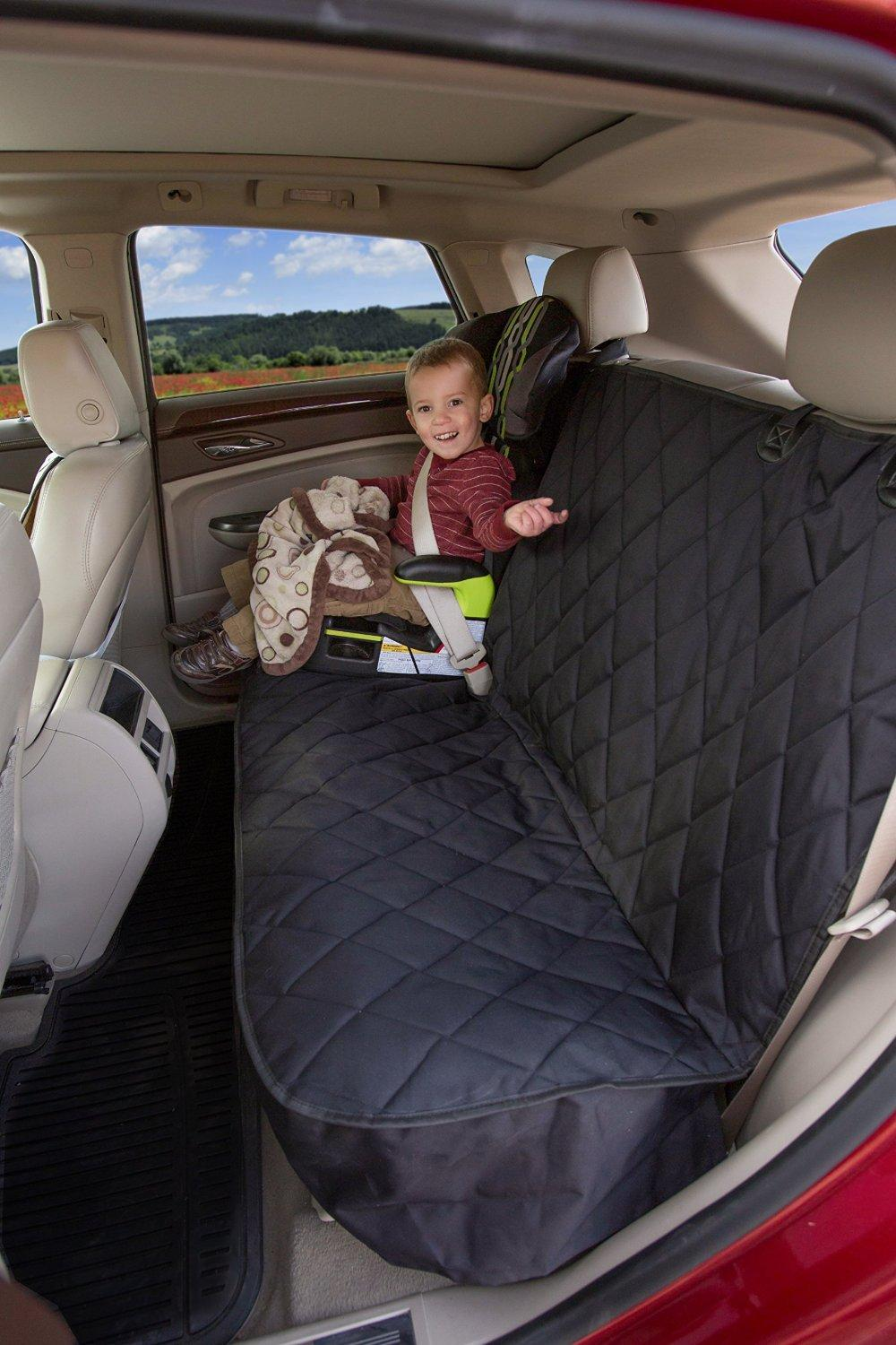 10% OFF Rear Car Seat Cover (Black, Regular) sale @ Amazon.com