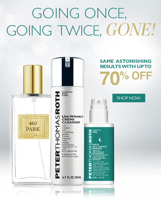Up to 70% OFF Sale Items @ Peter Thomas Roth