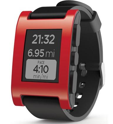 $59.99Refurb Pebble 301BL Smart Watch for Select Apple and Android Devices - Black