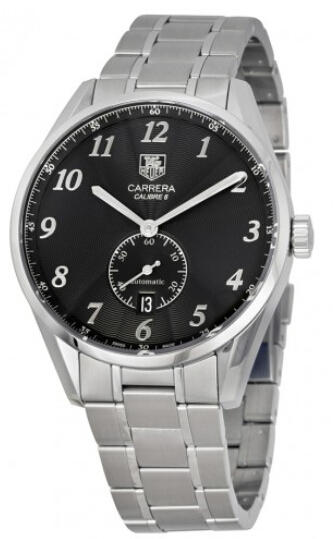 Tag Heuer Carrera Black Dial Automatic Men's Watch