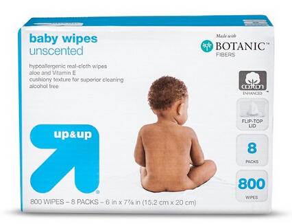 $9.27 Up & up™ Baby Wipes Refill Pack - Unscented - 800 ct