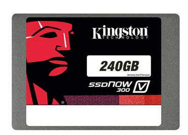 Kingston SSDNow V300 240GB Internal Serial ATA III Solid State Drive