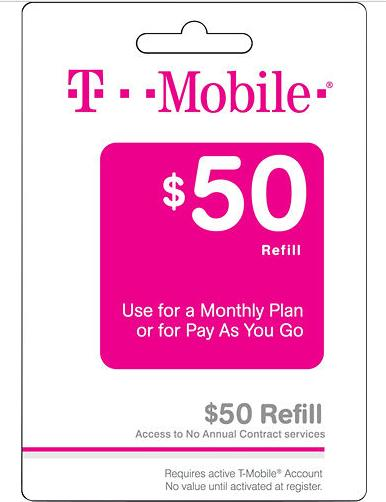 $85$100 T-Mobile Refilled Card