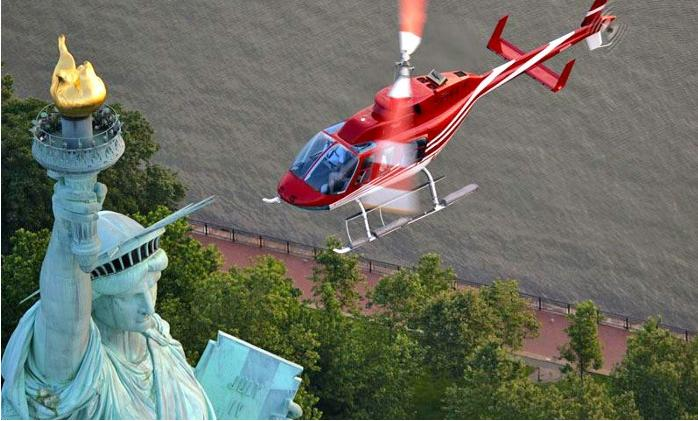 $95.2 Liberty Tour, Central Park Tour, or Grand Helicopter Tour from New York Helicopter