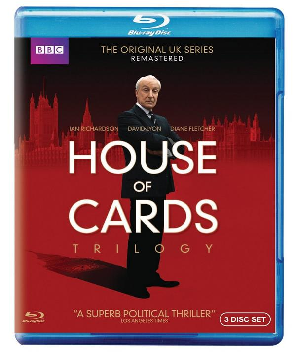 $18.99 House of Cards Trilogy: The Original UK Series Remastered [Blu-ray]