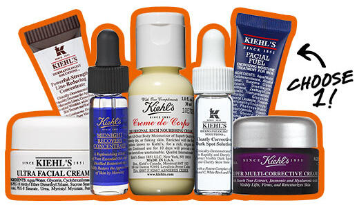 Free Deluxe Sample with Any Serum or Sun Care Purchase @ Kiehl's