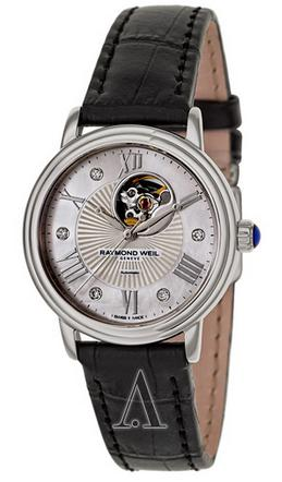 Raymond Weil Women's Maestro Automatic Open Balance Wheel Watch 2627-STC-00965 (Dealmoon Exclusive)