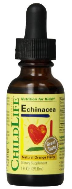 0 Child Life Echinacea, Glass Bottle, 1-Ounce