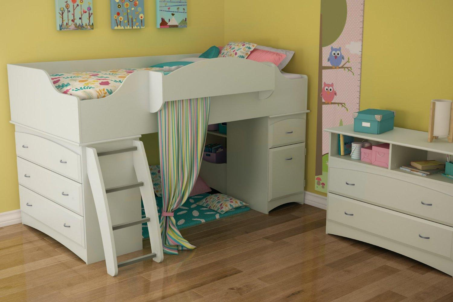 $531.07 South Shore Imagine Collection Twin Loft Bed kit