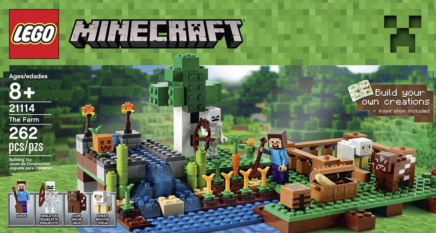Lowest price! $20.99 LEGO Minecraft 21114 The Farm
