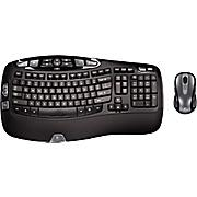 $39.99 Logitech MK550 Wireless Desktop Wave, Keyboard &Mouse