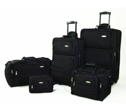 $71.99 Samsonite 5 Piece Nested Luggage Set