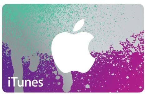 $40 iTunes Gift Card $50 Value