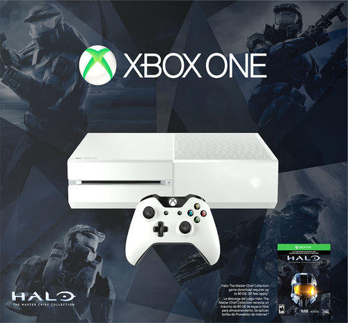 $349.99 Microsoft Xbox One 500GB Special Edition Halo: The Master Chief Collection