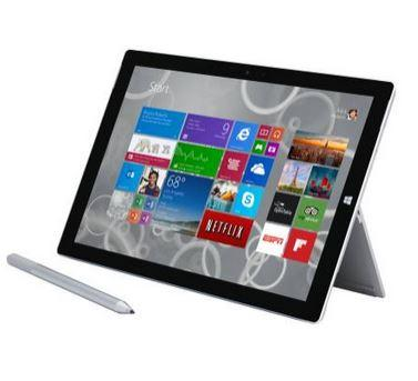 "$779.99 Microsoft Surface Pro 3 12"" Intel Core i5 128GB"