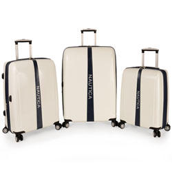$162.47Nautica Landfall 3 Piece Hardside Spinner  Luggage Set