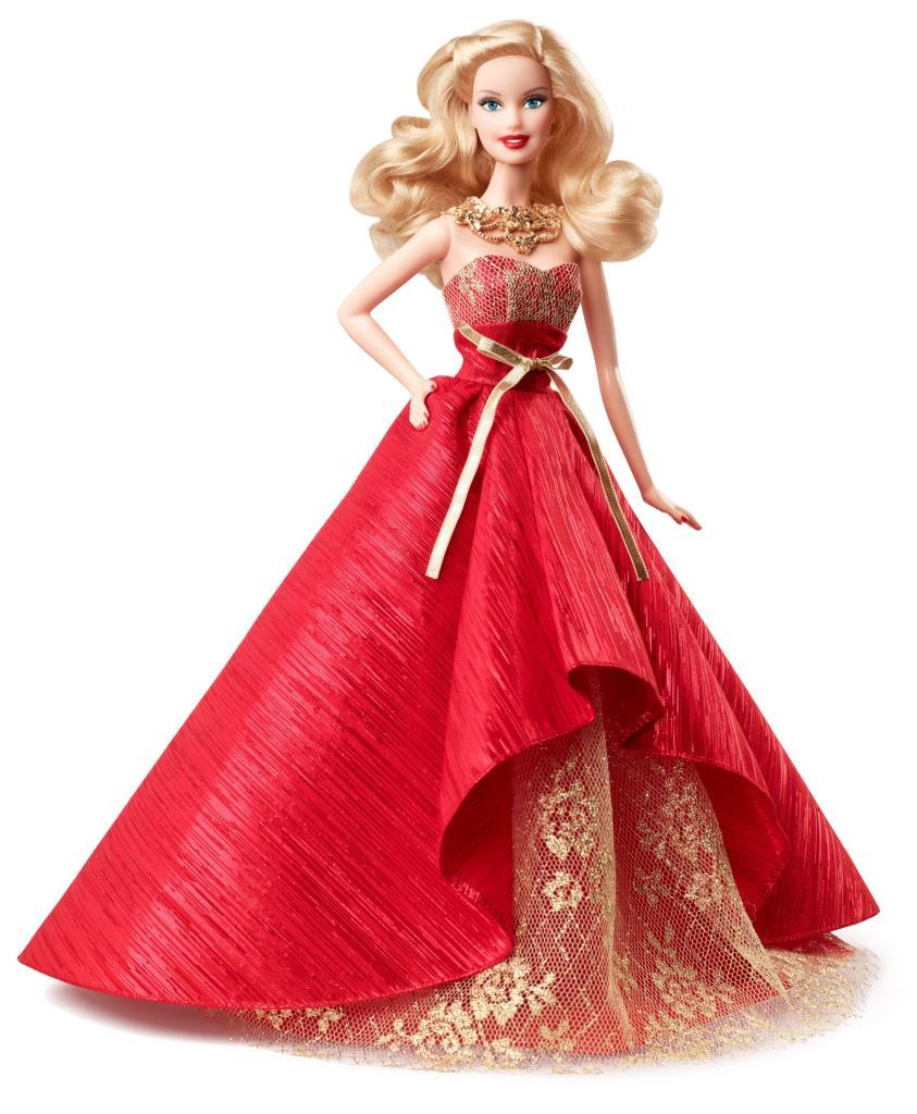 Lowest Price! Barbie Collector 2014 Holiday Doll