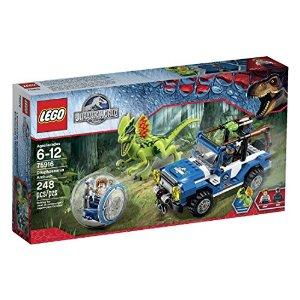 #1 Best Seller $20.99 LEGO Jurassic World Dilophosaurus Ambush 75916 Building Kit