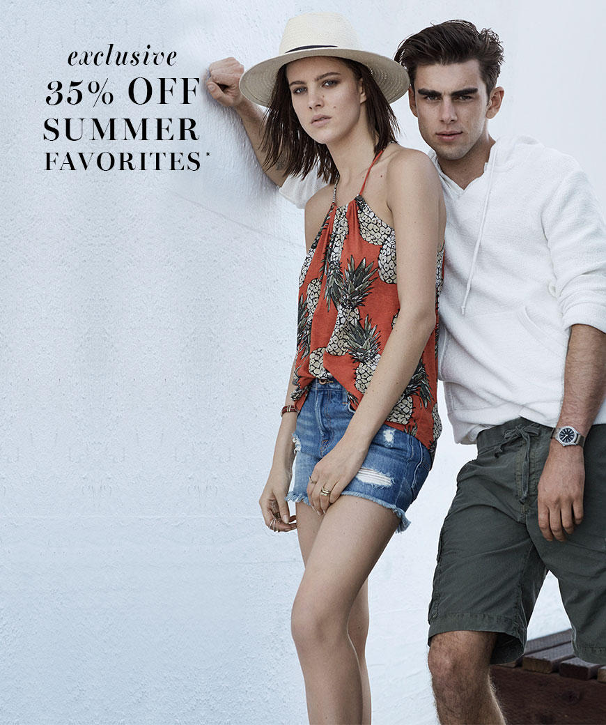 35% Off  Summer Favorites + Free Shipping @ Lucky Brand Jeans