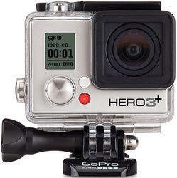 $159 GoPro HERO3+ Silver Edition Camera Manufacturer-Refurbished