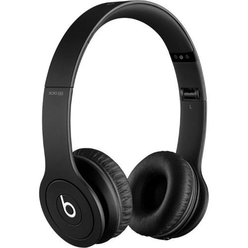 New England Technology Beats Solo HD - Drenched in Black (MH9D2AM/A)