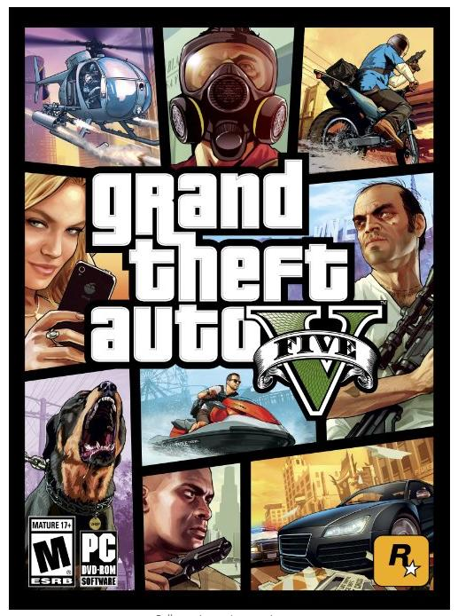 $44.99 Grand Theft Auto V PC Game Download @Green Man Gaming