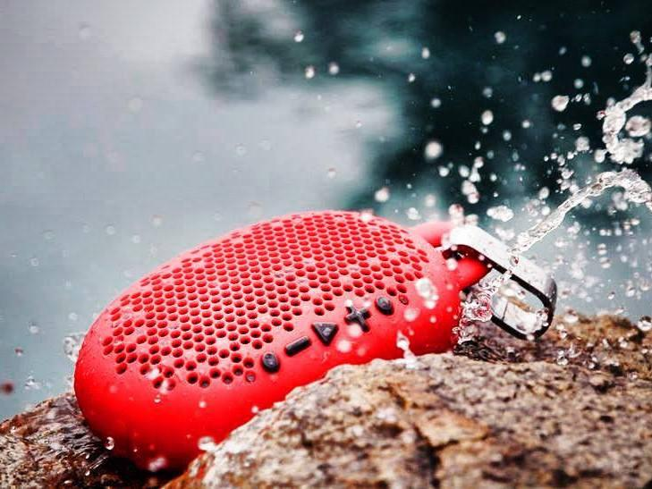 $34.95 BOOM Urchin Ready 4 Anything Water Resistant Bluetooth Speaker (Available in 4 colors)