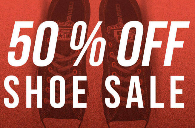 Extra 50% OffShoes Sale + Free Shipping @ Tillys