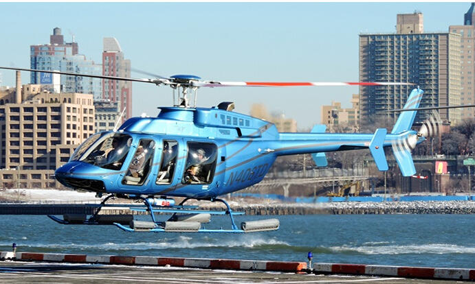 $103.2 Classic Manhattan Helicopter Tour with Photo for One or Two at Manhattan Helicopters