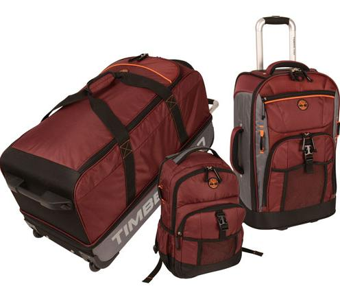$131.99 3-Piece Timberland Hampton Falls Luggage Set