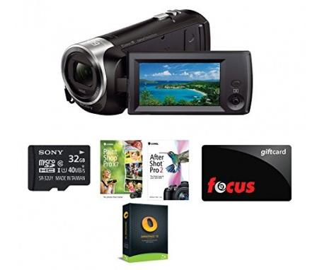 $128 Sony HD Video Recording HDRCX405 Handycam Camcorder