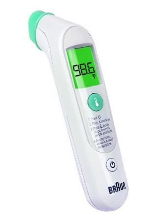 Braun Forehead Thermometer @ Amazon.com