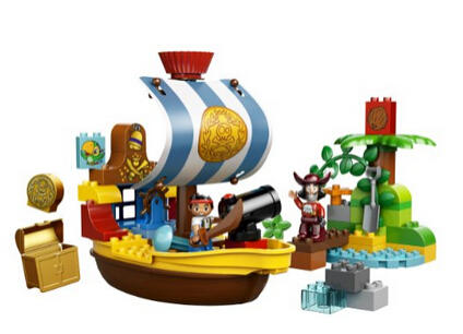 $27.3 Lowest Price Ever! LEGO 10514 Jakes Pirate Ship Bucky