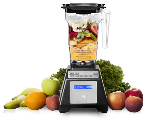 $189.99 Blendtec 1,560 Watt Total Blender Classic with Wild Side Jar Refurbished