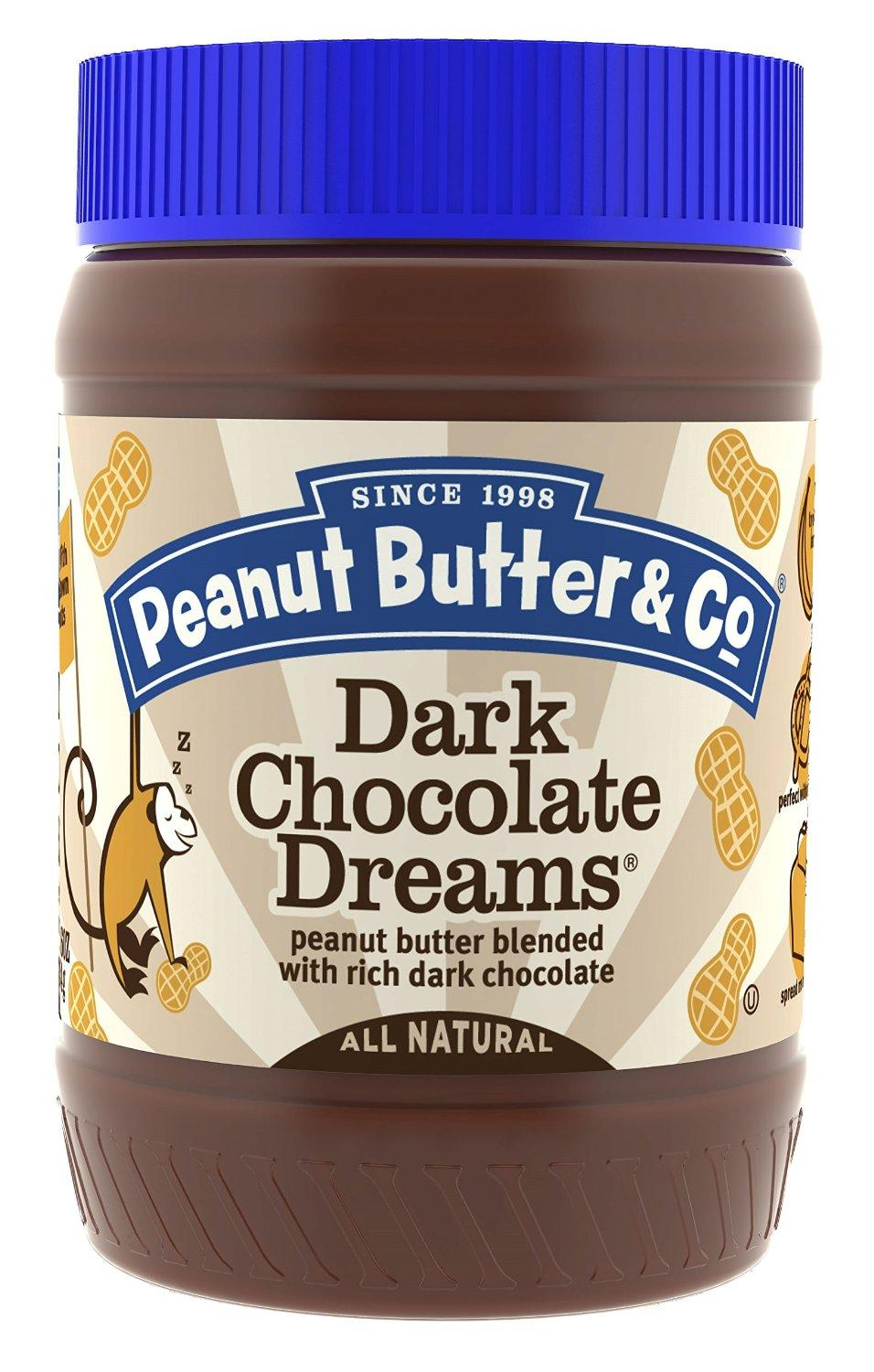 $16.83 Peanut Butter & Co. Peanut Butter, Dark Chocolate Dreams, 16-Ounce Jars (Pack of 6)