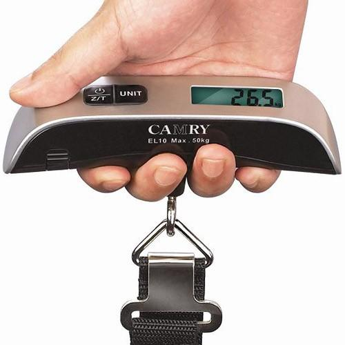 $6.99 Camry Electronic Luggage Scale With Built-In Backlight
