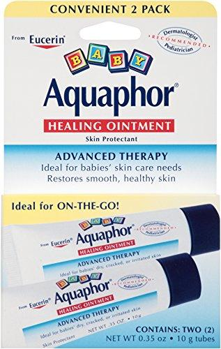 Aquaphor Baby Healing Ointment, Diaper Rash and Dry Skin Protectant, .35 Ounce