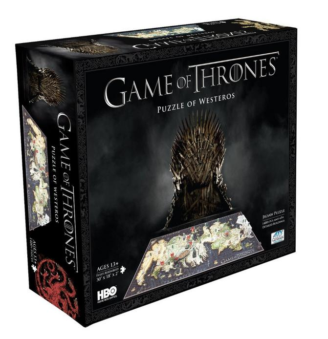 $36.84 4D Cityscape Game of Thrones: Westeros Puzzle