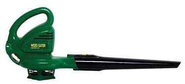 $29.99 Weed Eater 7.5 Amp 160 MPH Electric Leaf Blower