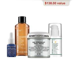 $41.6 Peter Thomas Roth Un-Wrinkle Peel Pads Kit @ SkinStore