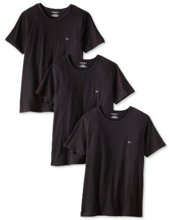 Emporio Armani Men's 3-Pack Crew Neck Regular Lift