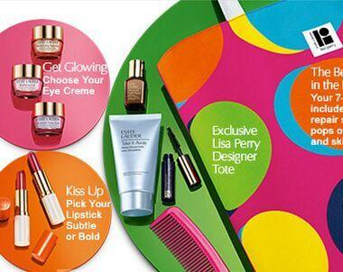 Free 7-Piece Gift with Any Estee Lauder Skincare or Foundation Purchase of $35 @ Bon-Ton