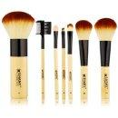 $7.07 SHANY Bamboo Brush Set with Premium Synthetic Hair, Bamboo Handles and Cotton Pouch