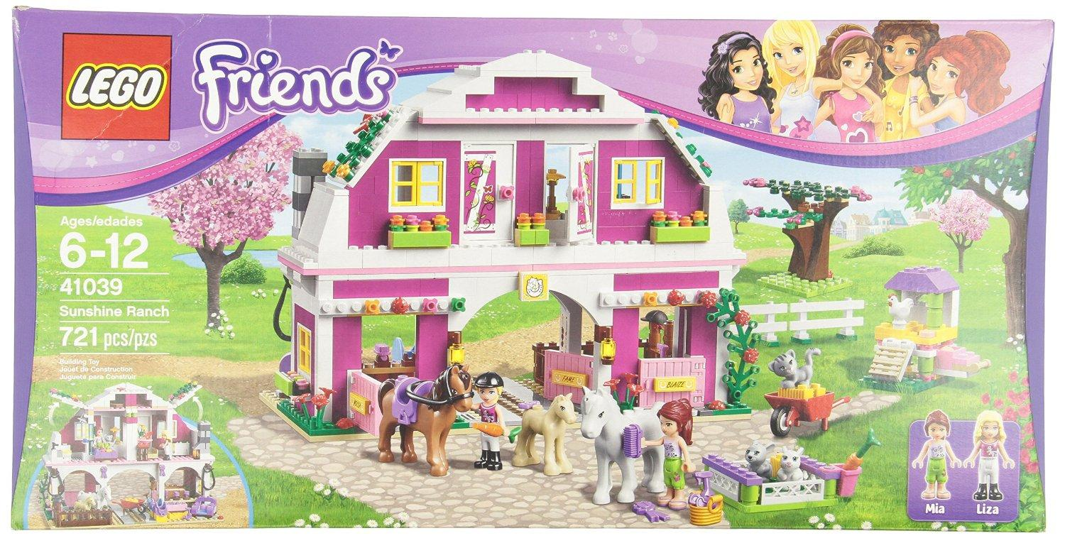 $55.99 LEGO Friends 41039 Sunshine Ranch